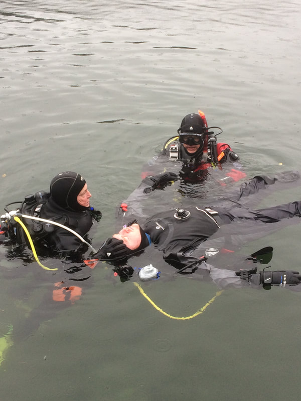 Assistant Instructor Rescue Practise
